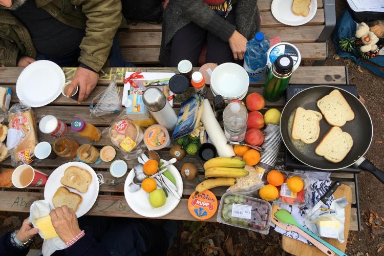 Frühstück im Park - FiP